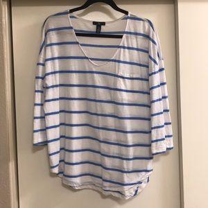 Light weight striped shirt